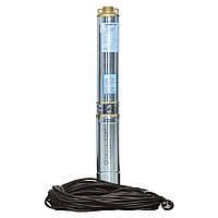 Насос центробежный скважинный 0.75кВт H 51(33)м Q 140(100)л/мин Ø102мм (кабель 25м) AQUATICA (DONGYIN) (777492)
