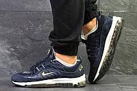 Кроссовки мужские Nike  97,демисезонные,синие 42,44р