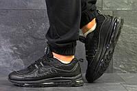 Кроссовки мужские Nike 97,демисезонные,черные 44р