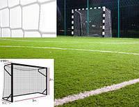 Профессиональная сетка на ворота 3х2 м. - мини-футбол, гандбол, шнур полипропилен 5,5 мм. White (Испания)/пара #F/B