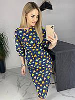Платье / джинс / Украина 40-1051, фото 1