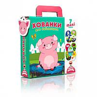 """Пазлы-двойняшки для самых маленьких VT2904 (""""Прятки"""" (укр))"""