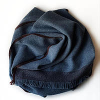 Мужской шарф из беби кашемира цвета джинс