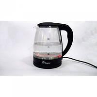 Электро чайник Domotec MS-8210 2200W 2L стекло с подсветкой
