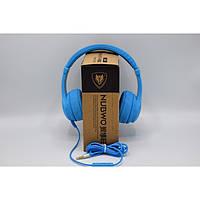 Наушники NUBWO N8 со встроенным микрофоном Синие
