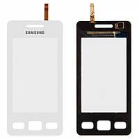 Сенсорный экран (Touchscreen) для Samsung S5260, белый, оригинальный