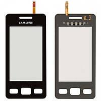 Touchscreen (сенсорный экран) для Samsung S5260, оригинальный (черный)
