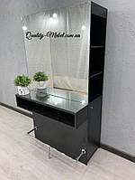 Черный визажный стол