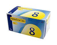 Иглы Novofine 30G (0,3х8 мм) для инсулиновых шприц-ручек №100