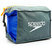 Сумка для бассейна Speedo POOL SIDE BAG (полиэстер, V-5л, серый-синий) PZ-809191C299