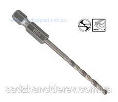 """Сверло по металлу Bosch с шестигранным хвостовиком 1/4"""" (3 x 33 x 74 mm)"""