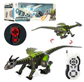 Радиоуправляемый Динозавр 28303 Mecha Dragon, ходит, звук, свет