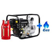 Газовая мотопомпа Hyundai HY 101 LPG