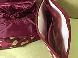 Сумка-органайзер Travel для белья и косметики 2в1 / бордовый, фото 9