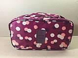 Сумка-органайзер Travel для белья и косметики 2в1 / бордовый, фото 2