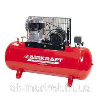 Компрессор высокого давления 15bar, Vрес=300л, 858л/мин, 380V, 5,5кВт AIRKRAFT AK300-15BAR-858-380