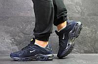 Кроссовки Nike air max Tn,текстиль,темно синие