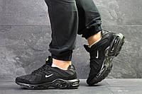 Кроссовки Nike air max Tn,текстиль,черные
