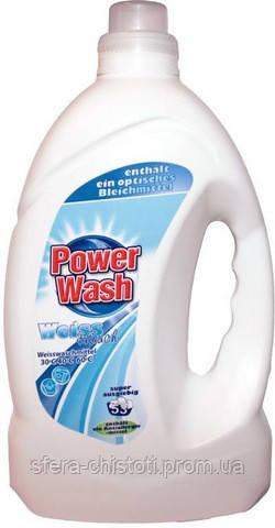 Гель для стирки белого белья Power Wash Gel 4L