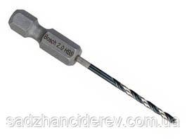 """Сверло по металлу Bosch с шестигранным хвостовиком 1/4"""" (2 x 24 x 60 mm) (2608577045)"""