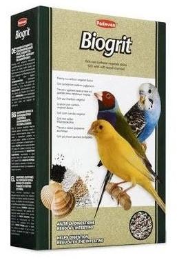 Мінеральна підгодівля для зерноядных птахів Padovan Biogrit 700 г