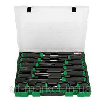 Набор отверток  14 ед. (пластиковая коробка)  TOPTUL GZC1401