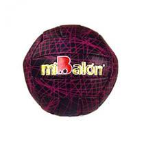 """Мяч волейбольный """"miBalon""""  (черно-розовый) B25282 7Toys (TC118410)"""