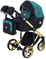 Детская коляска Adamex Luciano Polar Gold Y841, фото 1