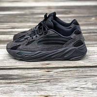 Кроссовки Adidas Yeezy Boost 700 V2  Black Чёрный / Изи буст 700. Унисекс. Качество Вьетнам.