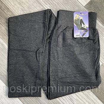 Лосины женские бесшовные хлопок Kenalin, серые, размер M-L, 09С