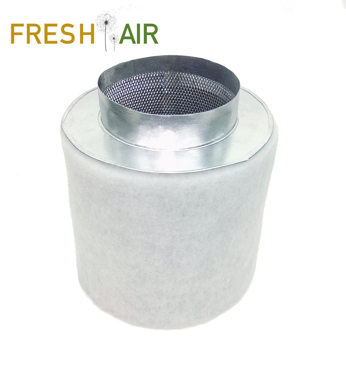 Fresh Air 125\180 (160-240м3). Фильтр угольный для гроубокса,вентиляции