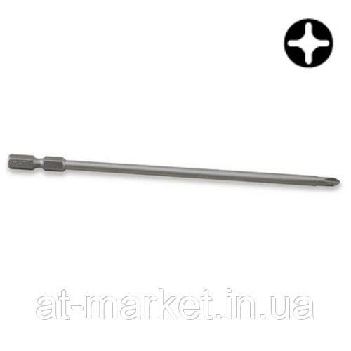 """Насадка 1/4"""" 150мм  PH2 магнитная Anti-Slip (под шуруповерт)  TOPTUL FSMC0802"""