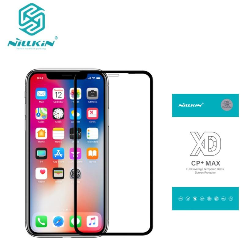 Защитное стекло Nillkin XD CP+ Max для iPhone XS Max закругленные края