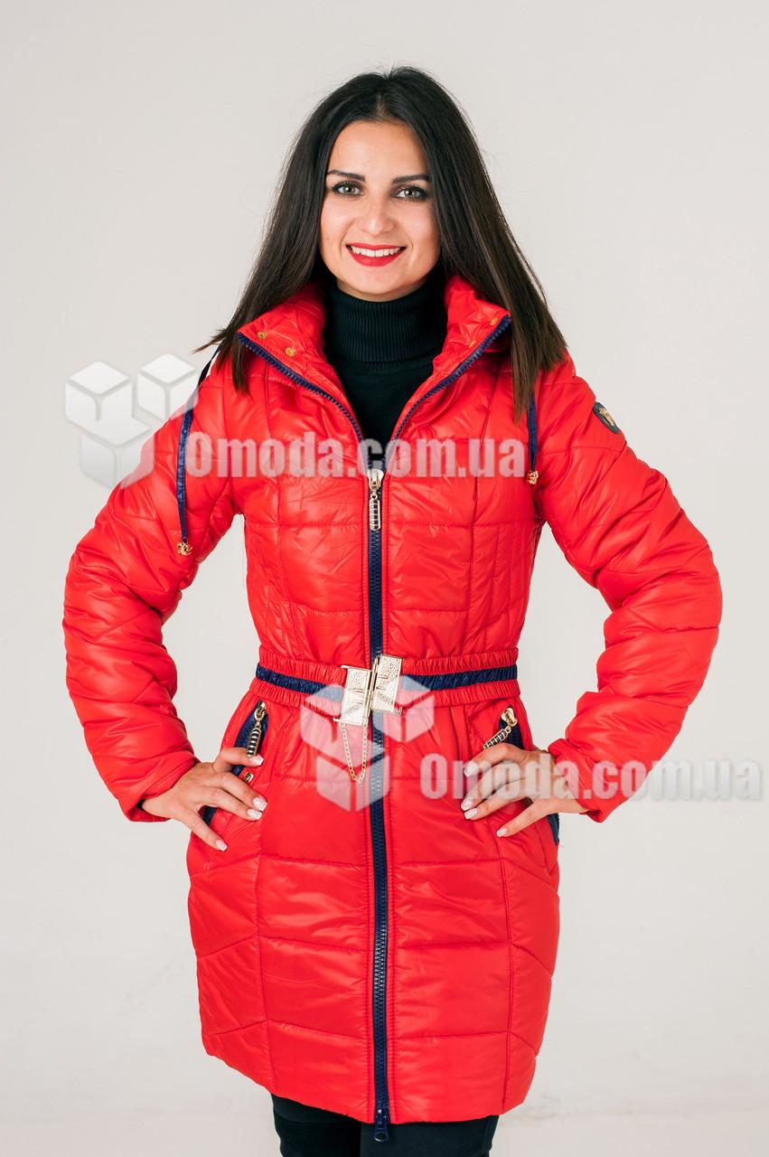 Куртка женская стёганая Морган красная