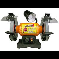 Точило WorkMan TDS-G200VLD с регулировкой оборотов, фото 1