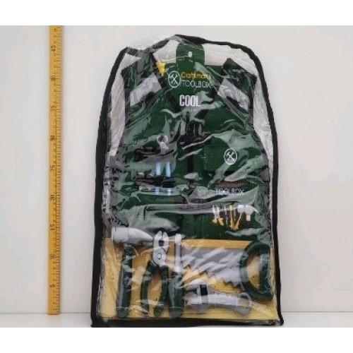 Набор инструментов G216 жилет плоскогубцы пила молоток отвертка в рюкзаке 38 * 4 * 54 5 см