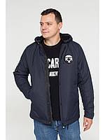 Мужская зимняя куртка бомбер Riccardo NY Синий 48