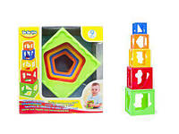 Кубики-пирамидка раскладной BeBeLino 57028 ( TC119136)