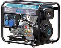 Дизельный генератор Konner & Sohnen KS 8100 HDE