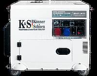 Дизельный генератор Konner & Sohnen KS 9200 HDES-1/3 ATSR
