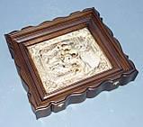 Киот из ольхи с деревянным багетом для подокладной иконы., фото 2