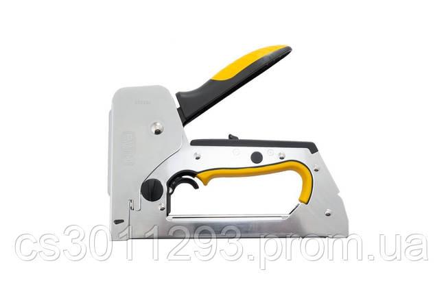 Степлер Сила - скоба 6-14 мм x гвоздь 14 мм PRO, фото 2
