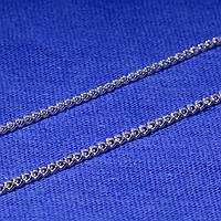 Серебряная цепочка Панцирь мелкий 50 см 90101106041, фото 1