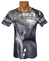 Футболка Лев White Paradise - №4262, фото 1