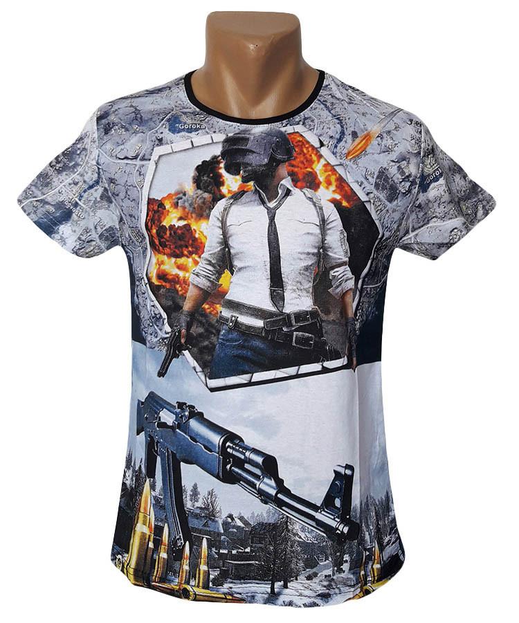 Мужская футболка Pubg Sport Line - №5402