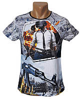 Мужская футболка Pubg Sport Line - №5402, фото 1
