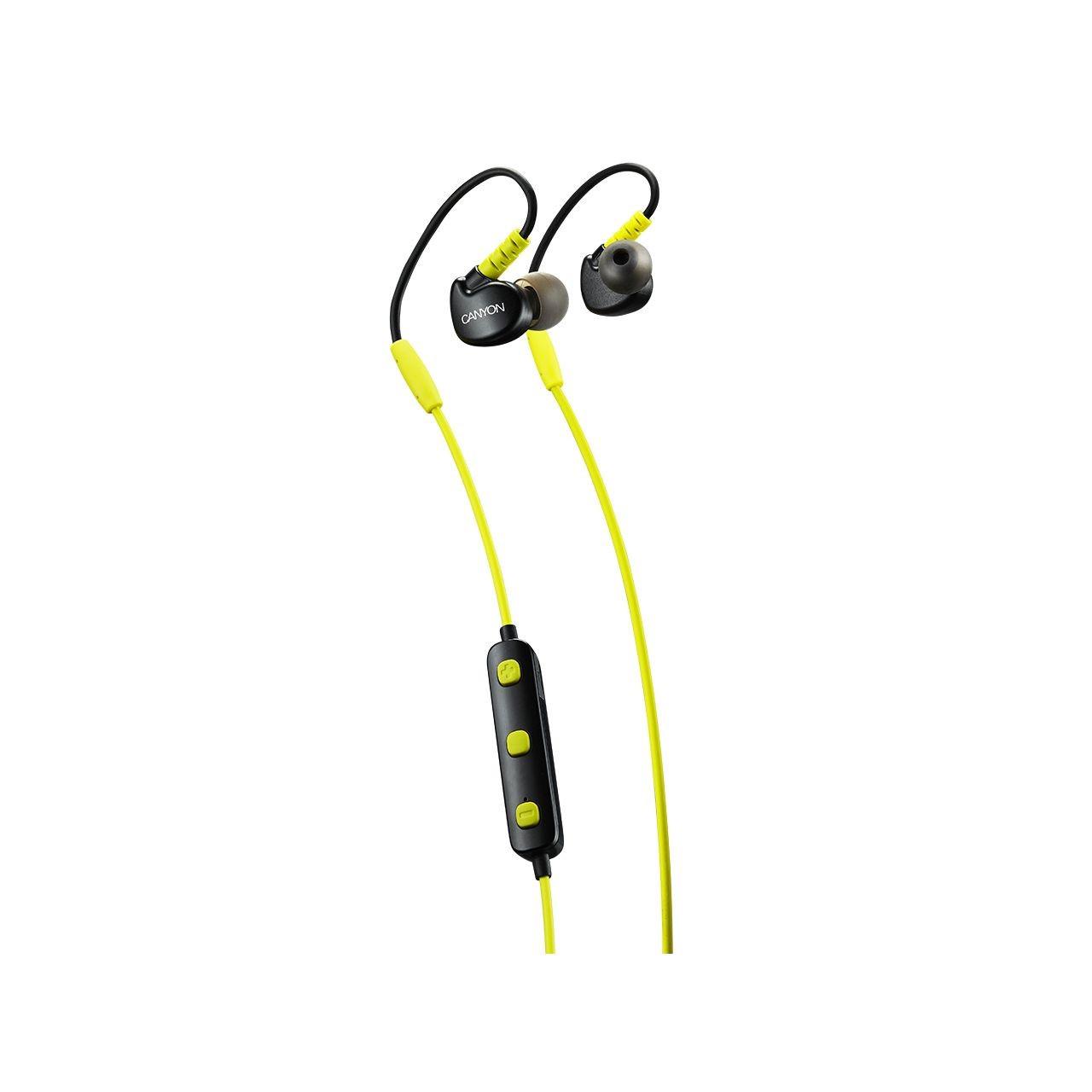 Bluetooth-гарнітура Canyon CNS-SBTHS1L Lime