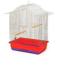 Клетка для птиц Корелла (470х300х620) цинк