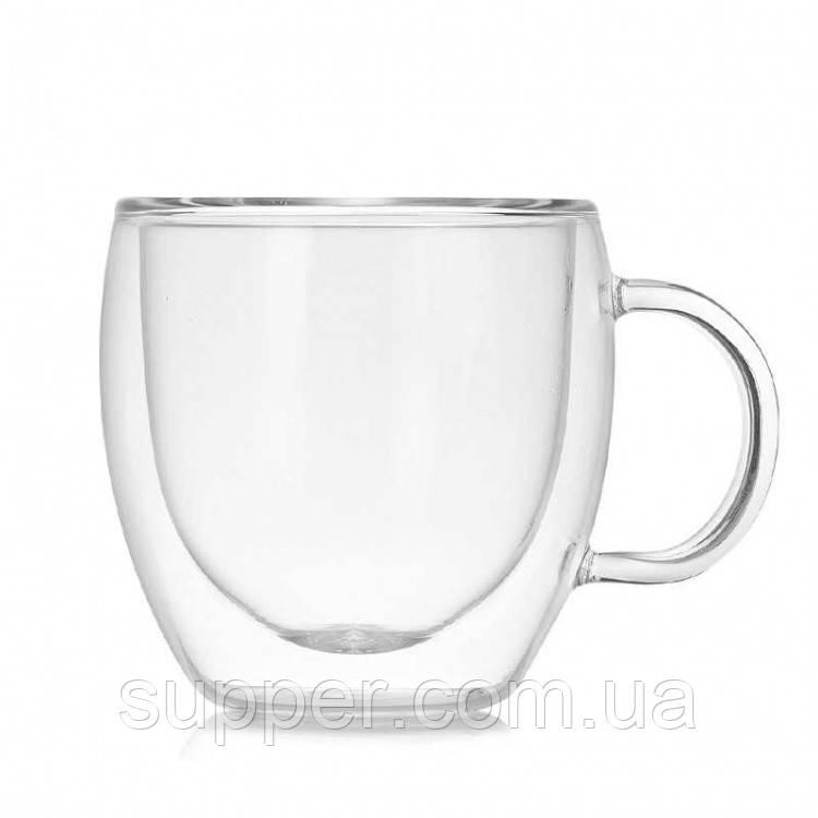 Чашка для кофе и чая с двойным дном 250 мл