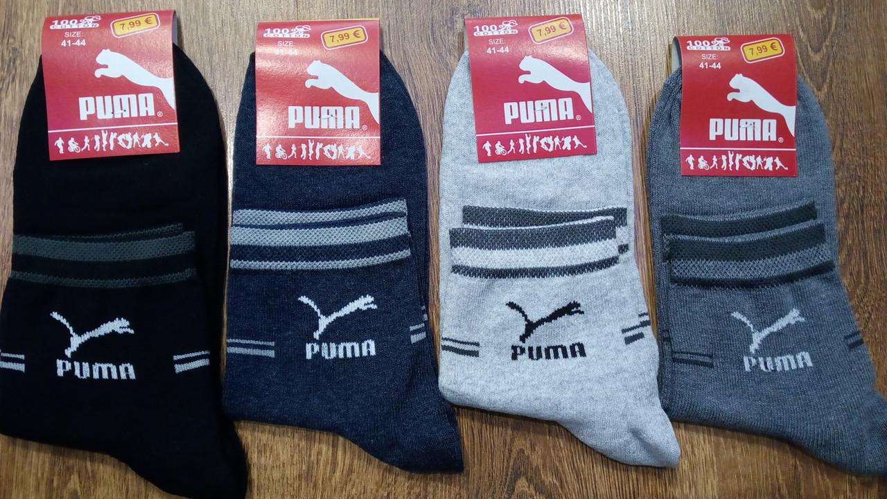 """Чоловічі стрейчові шкарпетки в стилі """"Puma SS"""" Туреччина (41-44)"""